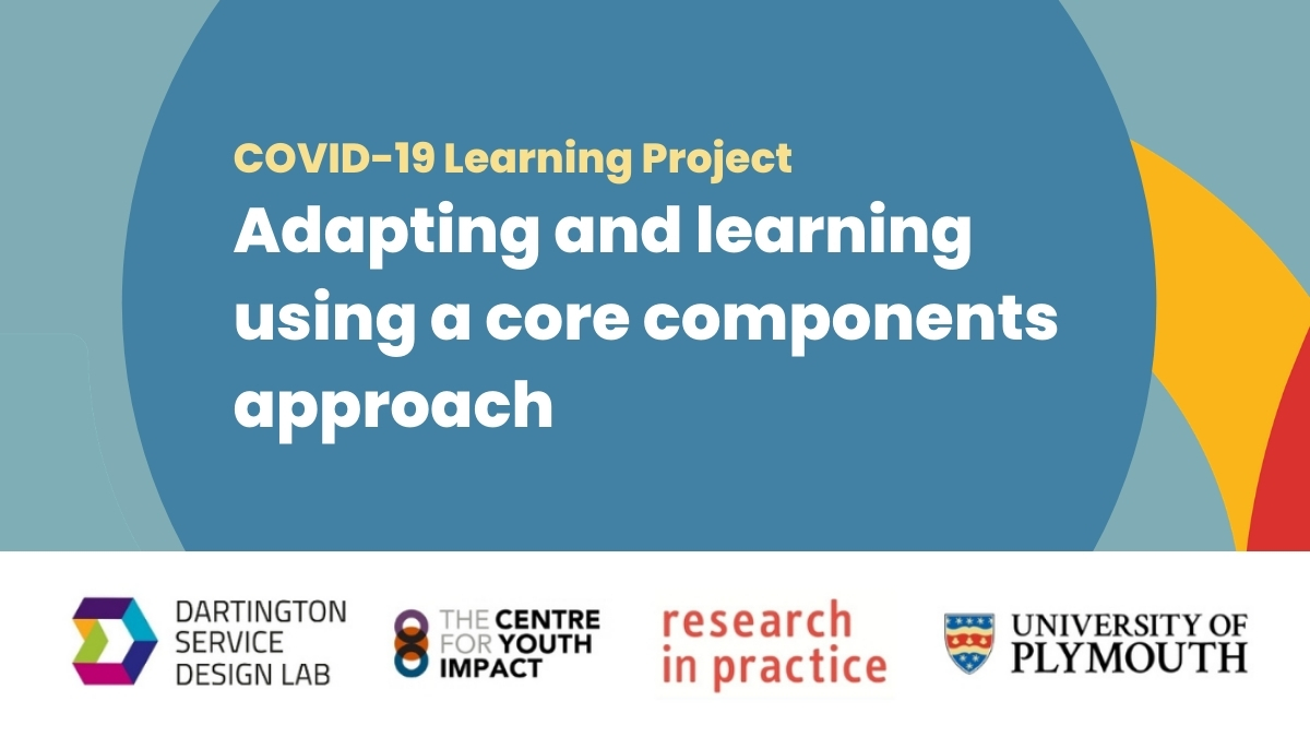 Adapting and learning using a core components approach