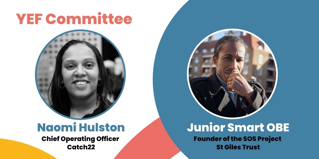 Naomi Hulston and Junior Smart OBE join Youth Endowment Fund Committee